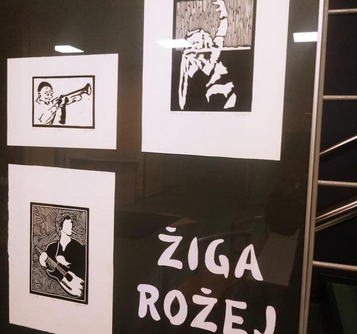 Otvoritev razstave grafik Žige Rožeja